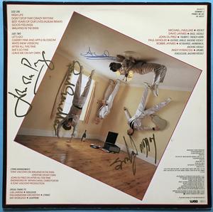 MODERN ROMANCE - Trick of the light SIGNERAD LP 1983