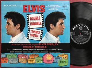 ELVIS PRESLEY - Double trouble Tysk-orig LP 1967