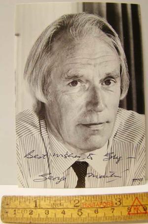 GEORGE MARTIN - Autograph