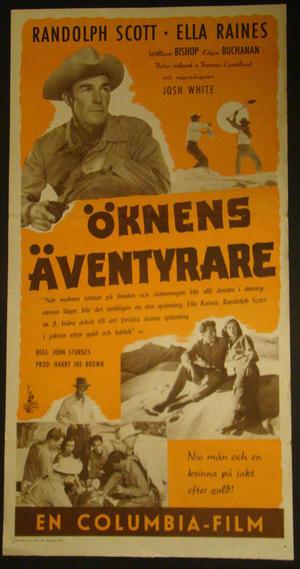ÖKNENS ÄVENTYRARE (RANDOLPH SCOTT, ELLA RAINES)