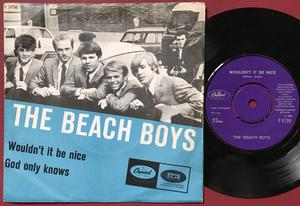 BEACH BOYS - Wouldn´t it be nice Danish PS 1966