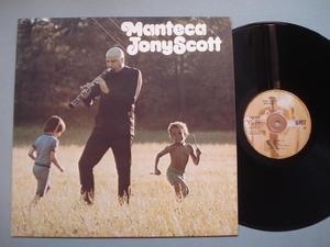 TONY SCOTT - Manteca Swe LP 1973