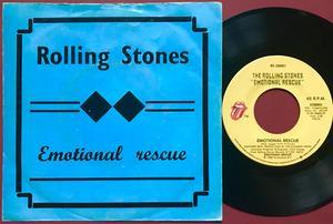 ROLLING STONES - Emotional rescue US/Belgium AS 45 1980