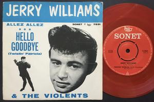 JERRY WILLIAMS - Twistin´ Patricia Swe PS 1963
