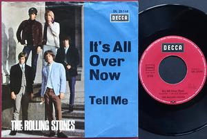 """ROLLING STONES - It´s all over now Ger """"Treppen"""" PS ca 1967-68"""