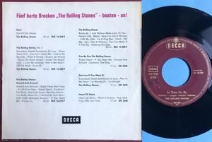 ROLLING STONES - 19th nervous breakdown Ger PS 1966
