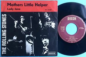 ROLLING STONES - Mothers little helper Ger Red PS 1966
