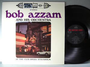 BOB AZZAM - At the Club Opera Stockholm  Swe LP 1967