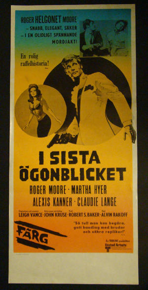 CROSSPLOT (ROGER MOORE, MARTHA HYER, ALEXIS KANNER, CLAUDIE LANGE)