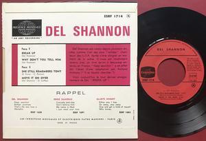 DEL SHANNON - Break up +3 Fransk EP 1965