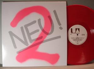 NEU! - 2, 1973 LP Red vinyl reissue