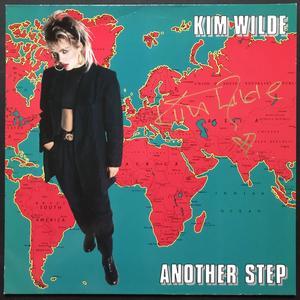 KIM WILDE - Another step SIGNERAD LP 1986