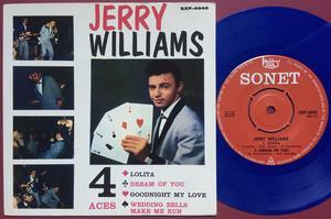 JERRY WILLIAMS - Lolita +3 Swe EP 1964