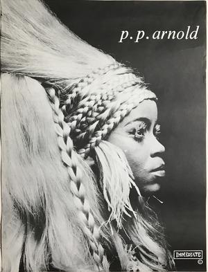 P.P.  ARNOLD - Kafunta (1968) Immediate LP Promoaffisch