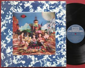 ROLLING STONES - Their satanic majesties.. UK boxed GREY/3-D LP 1967