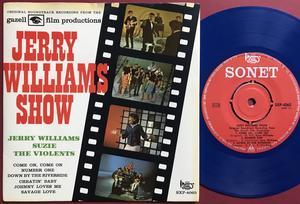 JERRY WILLIAMS - Show SUZIE & VIOLENTS Swe EP 1964