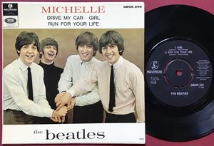 BEATLES - Michelle + 3 Swe EP SIB Tumba 1966