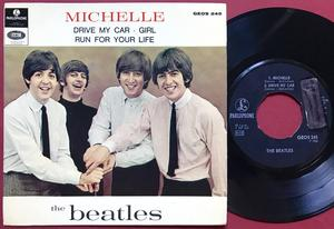 BEATLES - Michelle + 3 Swe EP 1966