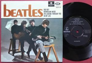 BEATLES - Bad boy + 3 Swe EP 1966