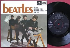 BEATLES - Bad boy + 3 Swe EP 1966