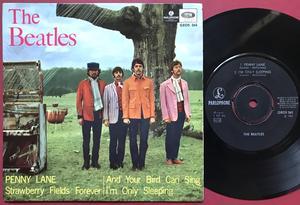 BEATLES - Penny lane +3 Swe EP 1967