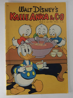 DONALD DUCK No 6 1952
