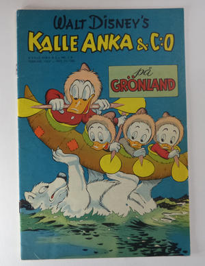 DONALD DUCK No 2 B 1952