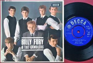 BILLY FURY & THE GAMBLERS - 1965 UK EP