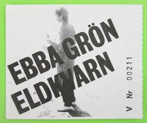 EBBA GRÖN & ELDKVARN - Fula Pojkar 1981