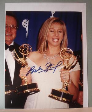 BARBARA STREISAND - Authentic autograph on photo