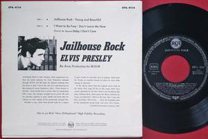 ELVIS PRESLEY - Jailhouse rock + 4 German EP 1957