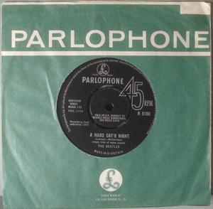 "BEATLES - A hard day´s night 7"" UK 1964"