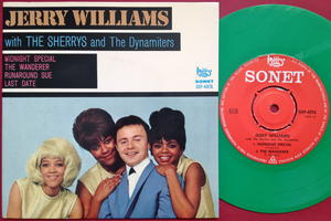 JERRY WILLIAMS with SHERRYS & DYNAMITERS - Swe EP 1966