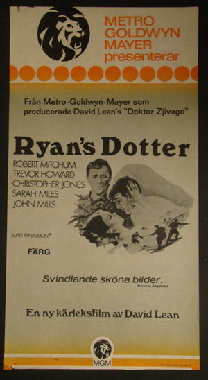 RYAN`S DOTTER (ROBERT MITCHUM, TREVOR HOWARD)