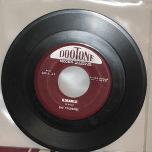 "CALVANES - Florabelle 1956 US 7"""