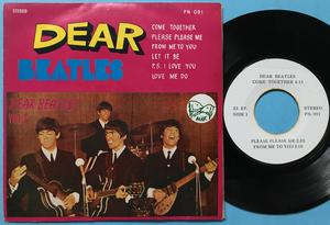 BEATLES - Dear Beatles Vol. 3 Thai EP