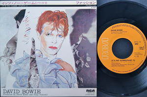 DAVID BOWIE - It´s no game(pt1) Japan PS 1980