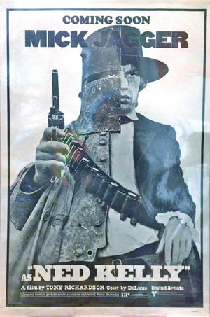 NED KELLY (1970) MIck Jagger / Rolling stones