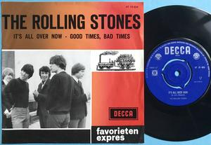 ROLLING STONES - It´s all over now Holland Red/brownPS 1964