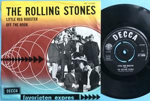 ROLLING STONES - Little red rooster UK-EXPORT 45/Holland PS 1964