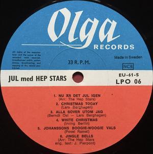 HEP STARS - Jul med Swe-orig LP 1967