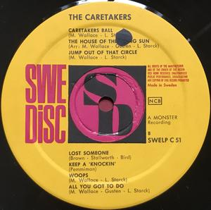 CARETAKERS - Have a ball with Swe-orig LP 1966