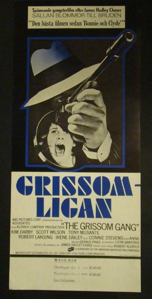 THE GRISSOM GANG(KIM DARBY, SCOTT WILSON, TONY MUSANTE)