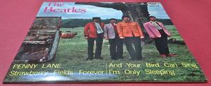 BEATLES - Penny lane +3 EP Swe -67 MINT- / ARKIVEX!