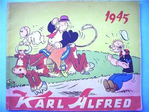 KARL-ALFRED - Julalbum 1945 - POPEYE X-mas 1945