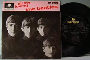 BEATLES - All my loving +3 UK EP 1963