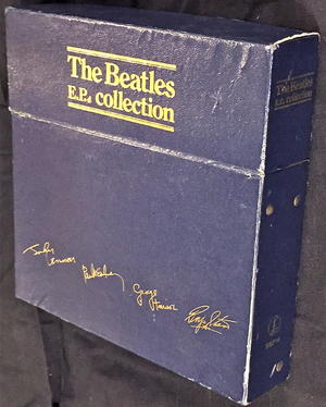 BEATLES - Collection 14 EP UK BOX SET 1978