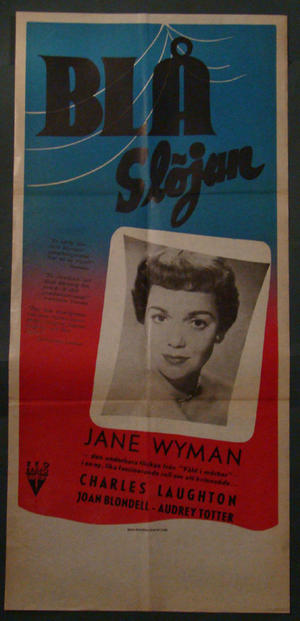 THE BLUE VEIL (JANE WYMAN, CHARLES LAUGHTON)