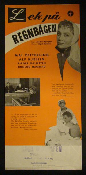 PLAYING ON THE RAINBOW (MAI ZETTERLING, ALF KJELLIN, BIRGER MALMSTEN, GUNLÖG HAGBERG)