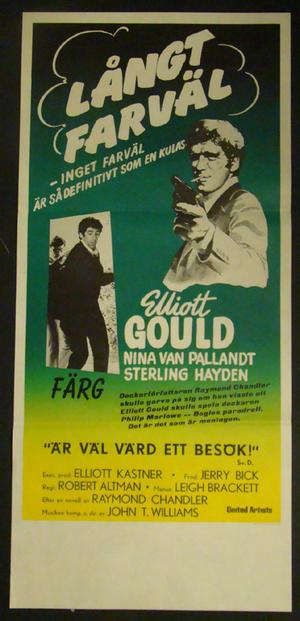 THE LONG GOODBYE (ELLIOT GOULD, NINA VAN PALLANDT)